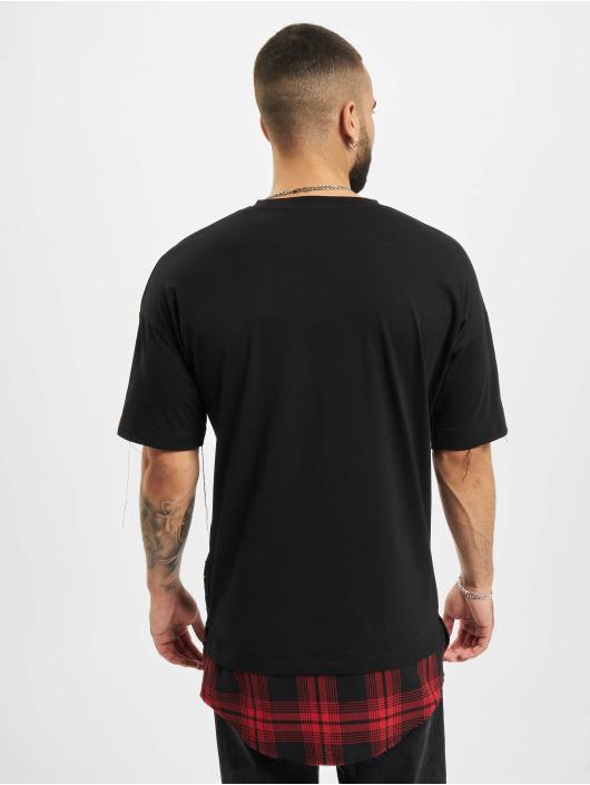 VSCT Clubwear T-skjorter Check 2 In 1 Hybrid svart