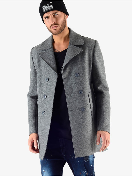 VSCT Clubwear Talvitakit Sophisticated 2 BtnRows harmaa