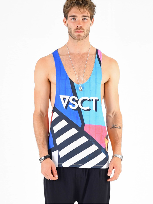 VSCT Clubwear Tank Top Graphix Wall Logo färgad