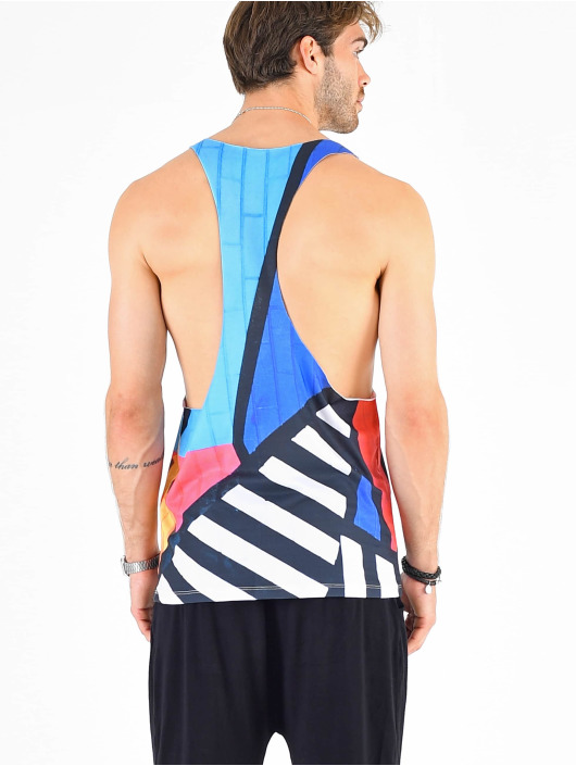 VSCT Clubwear Tank Tops Graphix Wall Logo colored