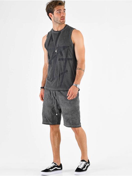 VSCT Clubwear Tank Tops Sharp Logo Sleeveless grey