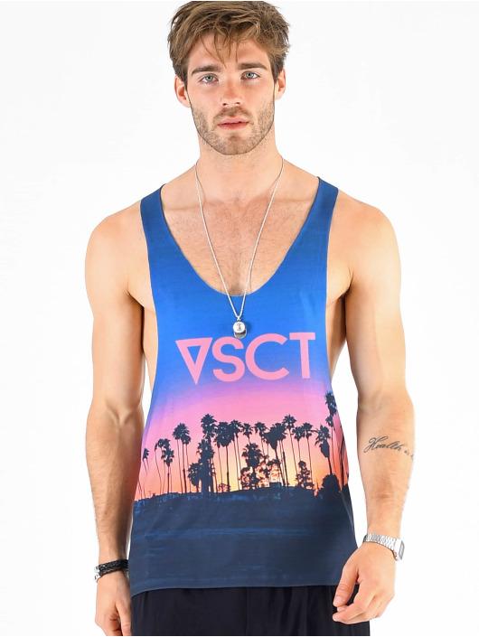 VSCT Clubwear Tank Tops Miami Palms Logo kirjava