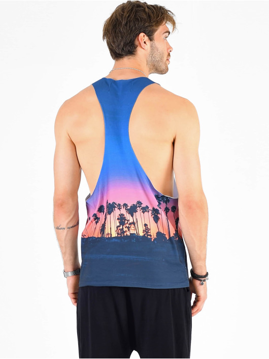 VSCT Clubwear Tank Tops Miami Palms Logo mangefarvet