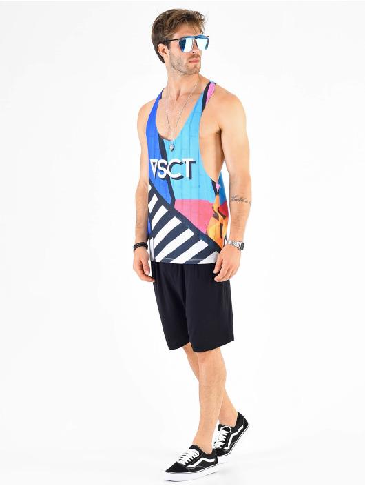 VSCT Clubwear Tank Tops Graphix Wall Logo pestrá