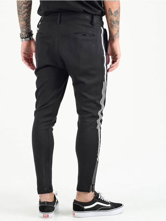 VSCT Clubwear tepláky Luxury Altered Stripe èierna