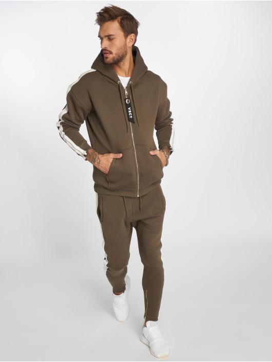 VSCT Clubwear tepláky Stripe kaki