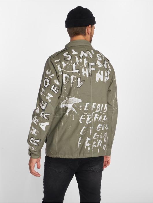 VSCT Clubwear Transitional Jackets Handpaint Military grå