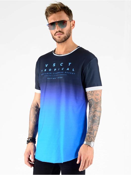 VSCT Clubwear Tričká Graded Logo Basalt Ocean èierna