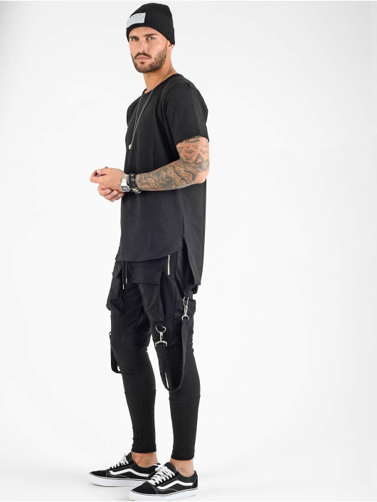 VSCT Clubwear Tričká Luxury Basic èierna