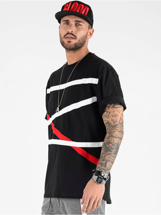 VSCT Clubwear Tričká Tape Bulky èierna