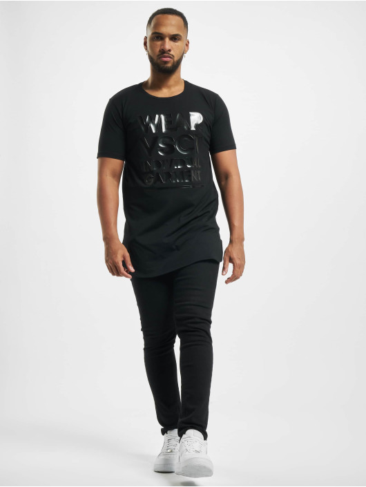 VSCT Clubwear Tričká Logo Couture èierna