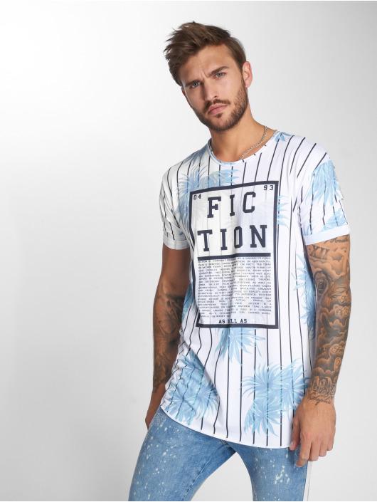 VSCT Clubwear Tričká Fiction biela