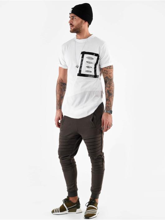VSCT Clubwear Tričká Tape Design Art Dept. biela