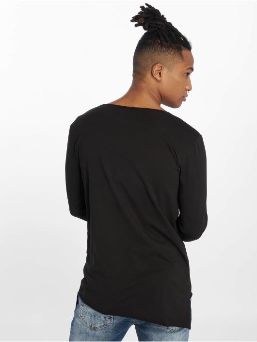 VSCT Clubwear Tričká dlhý rukáv Basicx èierna