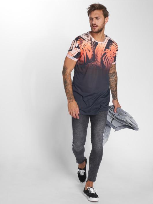 VSCT Clubwear Tričká Leaf oranžová