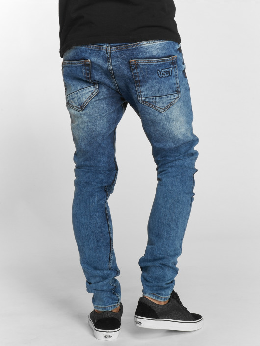 VSCT Clubwear Tynne bukser Hank Customized blå