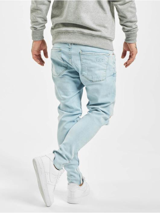 VSCT Clubwear Tynne bukser Knox Knee Cut blå