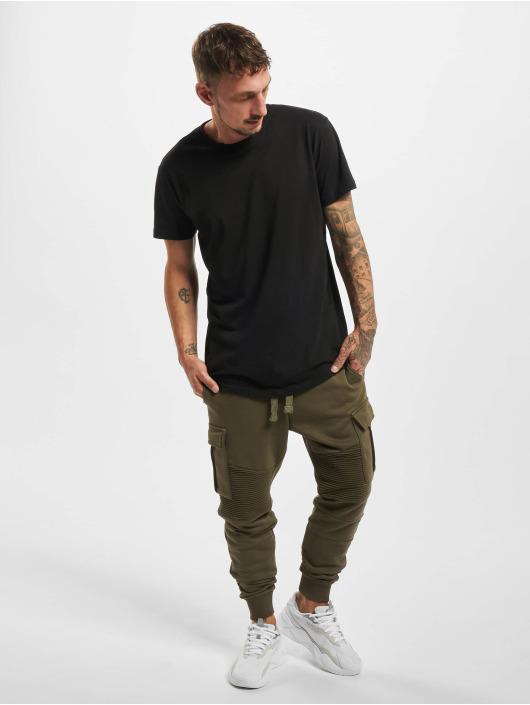 VSCT Clubwear Verryttelyhousut Caleb khakiruskea