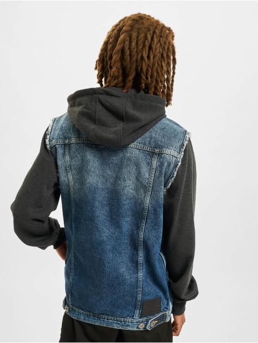 VSCT Clubwear Veste Jean Hybrid Denim bleu