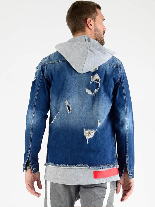 VSCT Clubwear Veste Jean 2 In 1 Hybrid bleu