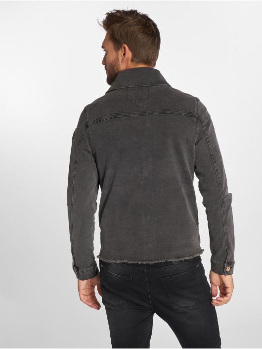 VSCT Clubwear Veste Jean Customized gris
