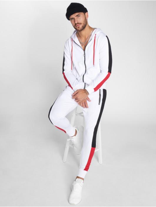 VSCT Clubwear Veste mi-saison légère Biker blanc