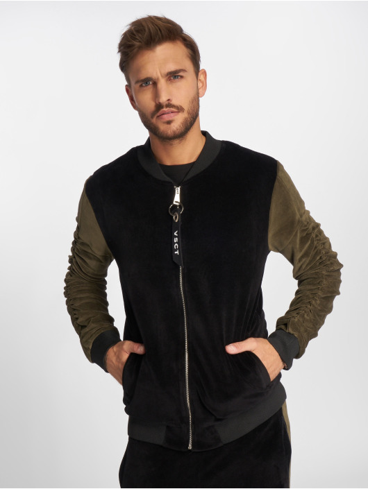 Homme Clubwear Velour Vsct 492637 Noir Veste Légère Mi saison 0NZPwk8nOX