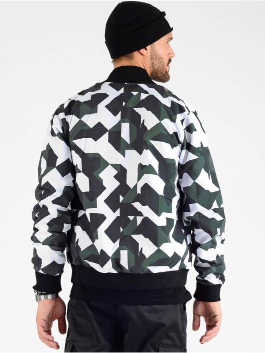 VSCT Clubwear Veste mi-saison légère Tech Camo noir