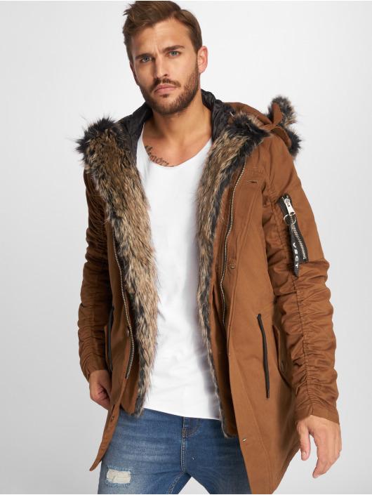 VSCT Clubwear Vinterjakke 2-Face brun