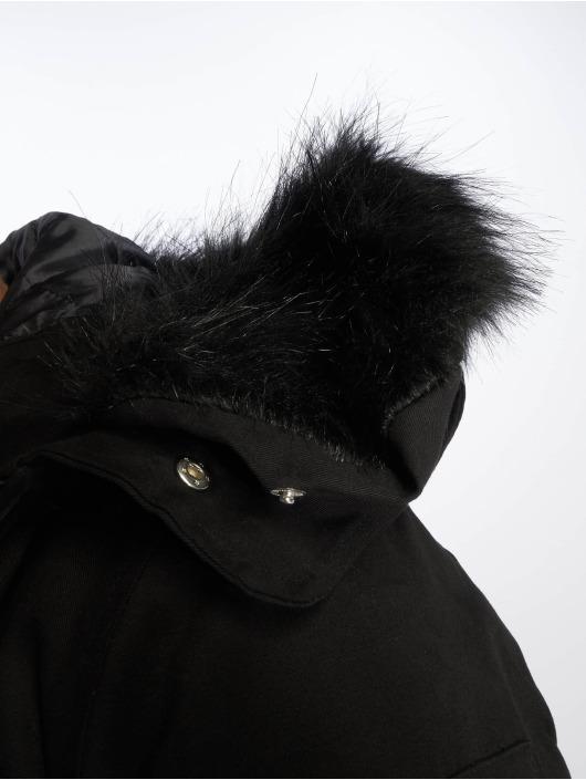 VSCT Clubwear Vinterjakker Zip Decor sort