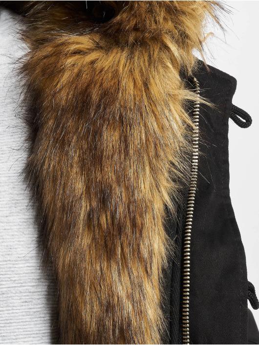 VSCT Clubwear Winter Jacket Double-Zipper Huge Luxury black