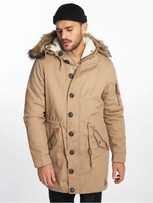 VSCT Clubwear Winter Jacket Luxury brown