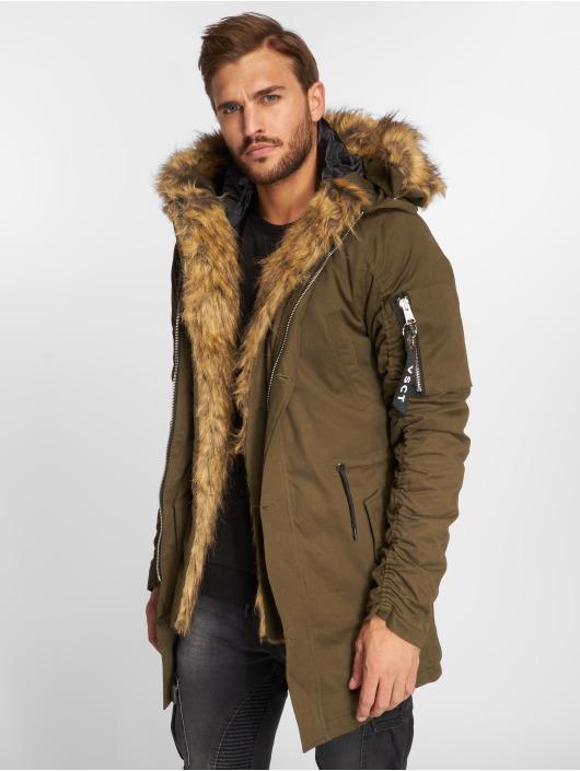 VSCT Clubwear Winter Jacket 2-Face khaki