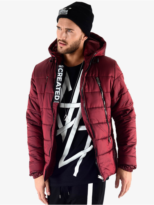 VSCT Clubwear Winter Jacket Padded red