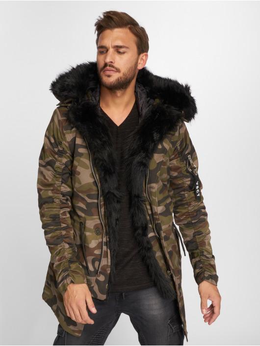 VSCT Clubwear Winterjacke 2-Face camouflage