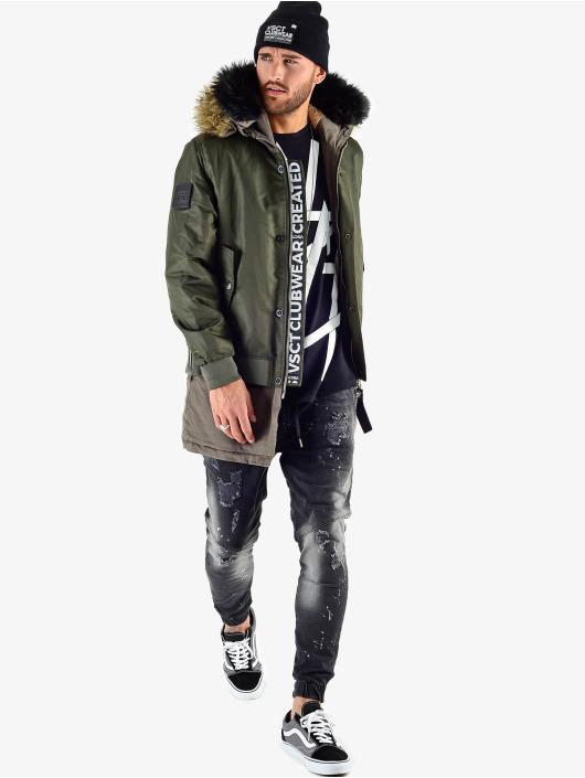 VSCT Clubwear Winterjacke 2 In 1 Assasin khaki