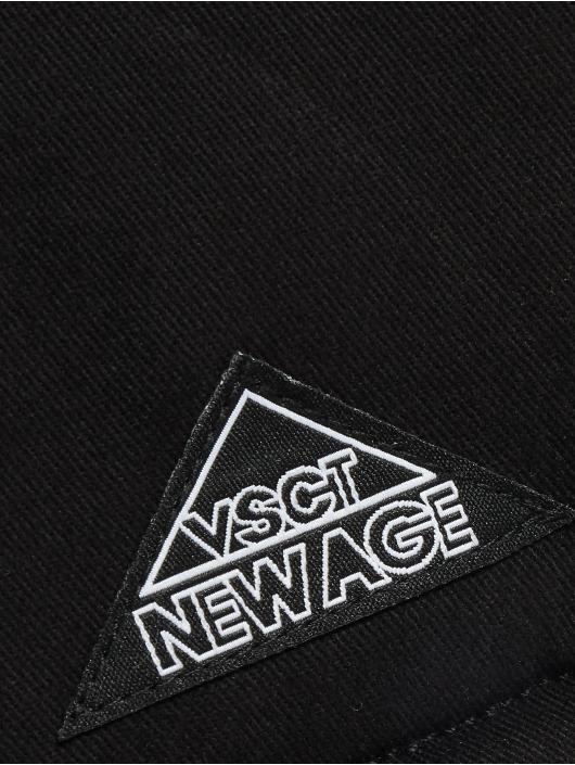 VSCT Clubwear Winterjacke Double-Zipper Huge Luxury schwarz