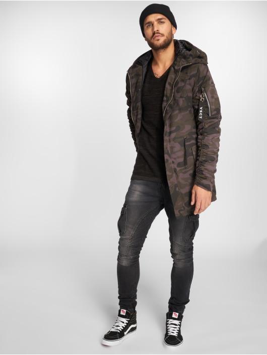 VSCT Clubwear Winterjacke 2-Face schwarz