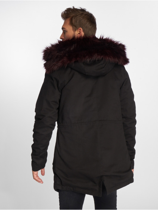 2 Vsct Fursparka Clubwear Face Black VUqzpGSM