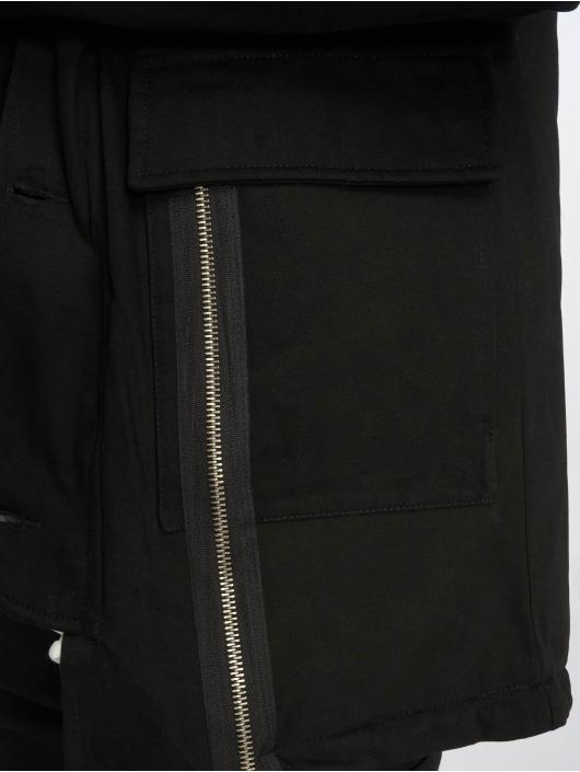 VSCT Clubwear Zimní bundy Zip Decor čern