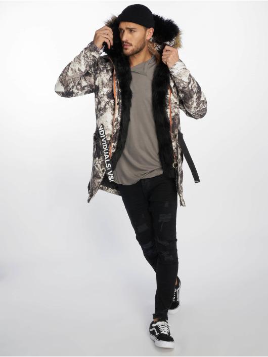 VSCT Clubwear Zimní bundy 3 Face Woodland šedá