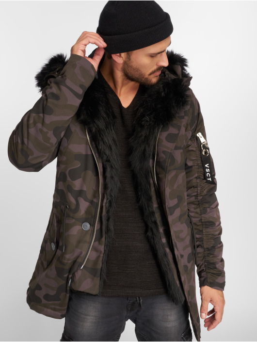 VSCT Clubwear Zimné bundy 2-Face èierna