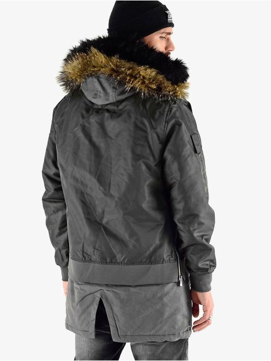 VSCT Clubwear Zimné bundy 2 In 1 Assasin èierna