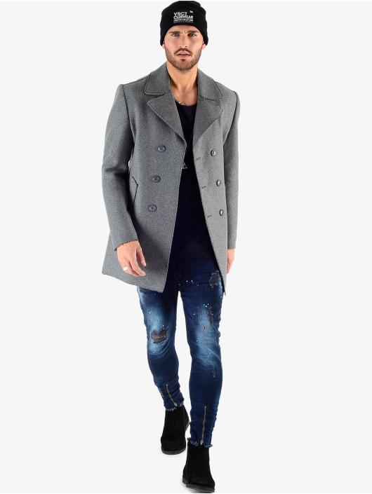 VSCT Clubwear Zimné bundy Sophisticated 2 BtnRows šedá