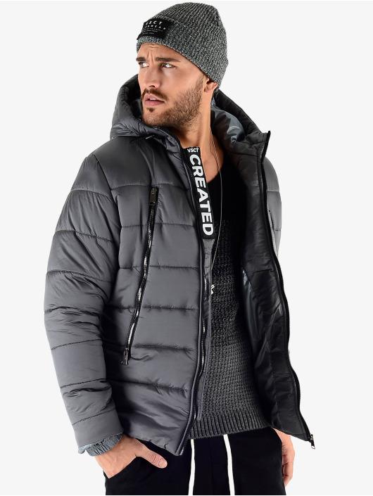 VSCT Clubwear Zimné bundy Padded šedá