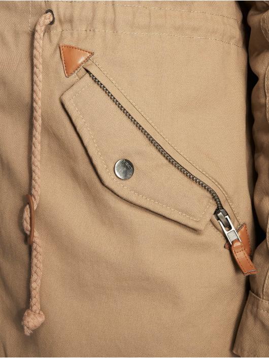 VSCT Clubwear Zimné bundy Luxury hnedá