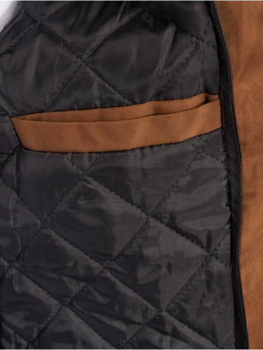 VSCT Clubwear Zimné bundy 2-Face hnedá