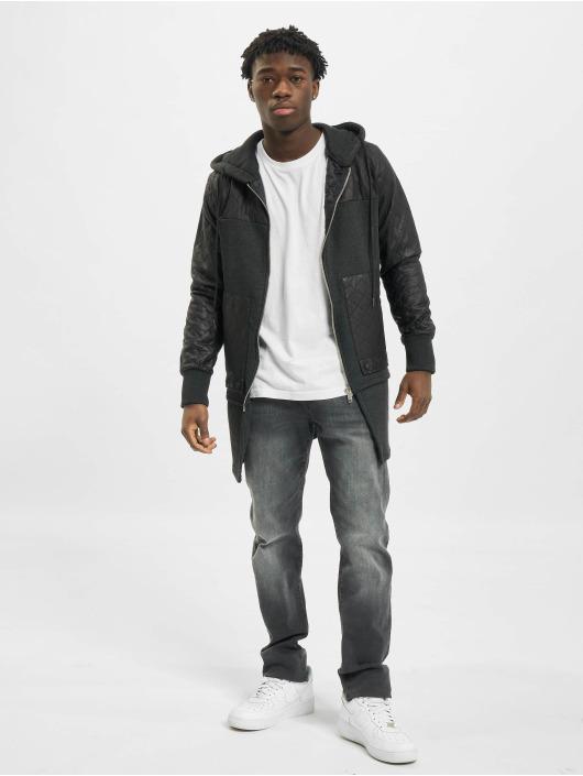 VSCT Clubwear Zip Hoodie Elite Long šedá