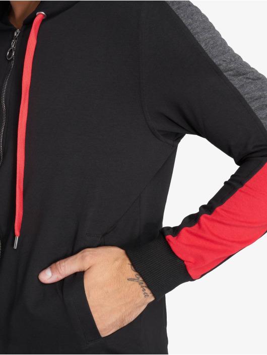 VSCT Clubwear Zip Hoodie Biker czarny