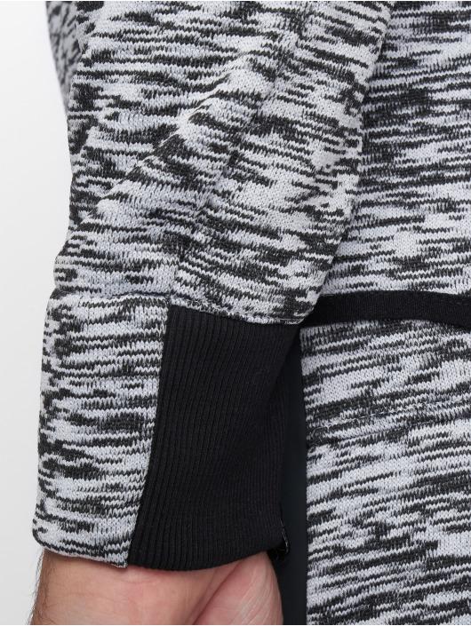 VSCT Clubwear Zip Hoodie Melange Techfleece grey